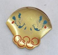Pin's OISEAUX COURONNES OLYMPIQUES - Jeux Olympiques