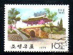 COREE DU NORD. N°1317 Oblitéré De 1975. Pagode. - Buddhismus