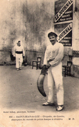 ST JEAN DE LUZ - Chiquito De Cambo - Champion Du Monde De Pelote Basque - Photo Marc  DELBOY - RARE - Saint Jean De Luz