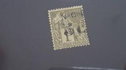 LOT 341360 TIMBRE DE COLONIE NCE OBLITERE N°9 VALEUR 35 EUROS