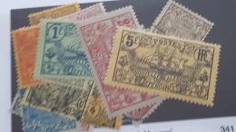 LOT 341385 TIMBRE DE COLONIE NCE NEUF*  N°88 A 104 VALEUR 31 EUROS