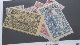 LOT 341389 TIMBRE DE COLONIE NCE NEUF* N°127 A 136