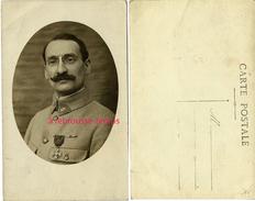 Carte Photo -militaire Du 3e Régiment-médaille Guerre - Guerre, Militaire