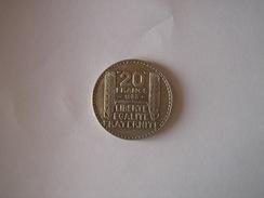 Pièce 20 Frs Turin - 1933 - France