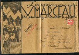 Paix N° 285: Imprimé Du 11/4/1933 Au 3° échelon Pr BELGIQUE (Grande Enveloppe Non Close Illustrée) - 1921-1960: Période Moderne