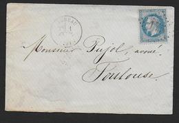 Hautes Pyrénées - G.C.  175  Et Cachet Type  16  ARREAU - Poststempel (Briefe)