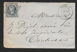 Hautes Pyrénées - G.C.  175  Et Cachet Type  17  ARREAU - Poststempel (Briefe)