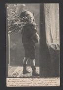 DF / ENFANTS / ENFANT AU BOUQUET DE BRANCHES / CIRCULÉE EN 1904 - Scenes & Landscapes