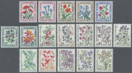 1937 - 1985, 46 Werte Aus Verschiedenen Serien, Postfrisch, (Yvert €465,-). (D)