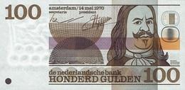 * NETHERLANDS 100 GULDEN 1970 P-93 UNC  [NL093] - [2] 1815-… : Kingdom Of The Netherlands