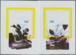 1985, BICENTENARY OF JAMES AUDUBON - 5 Items; Single Dies Of The Souvenir Sheets With Gold, Magenta And Black...