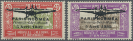 1932, Erstflug Paris-Noumea, Komplette Ausgabe Mit Lokalem Aufdruck, Ungebraucht Mit Orginalgummi Und Kleinen...