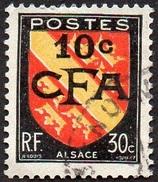 Réunion Obl. N° 281 - Armoiries - Blason - Alsace - Réunion (1852-1975)