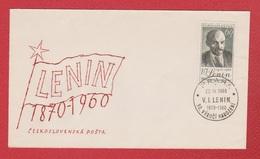 Tchécoslovaquie  --  Env Départ Praha -- 22/4/1960 - Czechoslovakia