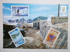 Postcard Port D Envalira Andorra Nice Andorre Stamps Card My Ref B2258 - Andorra