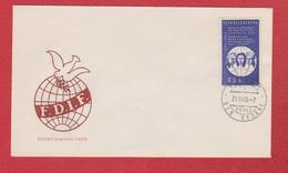 Tchécoslovaquie  --  Env Départ Praha  --  24/6/1965 - Czechoslovakia