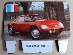 Plaque Métal Lessive CRIO Voiture René Bonnet DJET 5 Grand Prix Automobile - Advertising (Porcelain) Signs