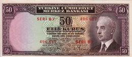 * TURKEY 50 KURUS 1930 P-133 AU/UNC [TR211a] - Turkey