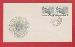 Tchécoslovaquie  --  Env Départ Praha   --  25/6/1965 - Czechoslovakia