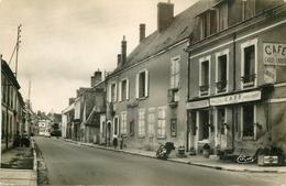 Photo Cpsm 41 PEZOU. La Gendarmerie Route Nationale 1957 Et Café Charcuterie Boulay - Autres Communes