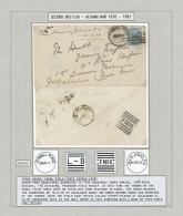"""1879 (March), Afghanistan Second War, Cover To Peshawar Field Force/""""F No.8"""" First Phase: Kabul Field Force (March... - Afghanistan"""