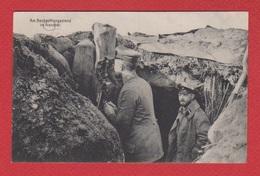 Poste D Observation Allemand Dans Aisne - France