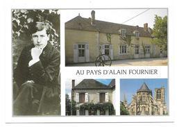 18 - AU PAYS D'ALAIN FOURNIER - Multivues Epineuil Le Fleuriel L'école La Chapelle D'Angillon Bourges - Ed. Combier - Autres Communes