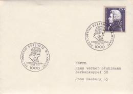 Germany FDC 1991 Mozart - Plain FDC   (G76-80) - [7] Federal Republic