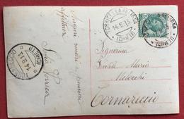 TORRICELLA PELIGNA CHIETI + TORNARECCIO CHIETI SU CARTOLINA IN DATA 14/9/1913 - 1900-44 Vittorio Emanuele III
