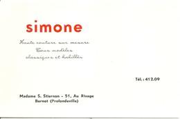 Profondeville Burnot SIMONE   Haute Couture - Profondeville