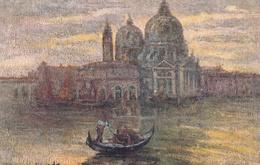 Thematiques Italie Venezia Illustrateur Migliavada Datée Main 1931 N° 25 Chiesa Della Salute - Venezia (Venice)