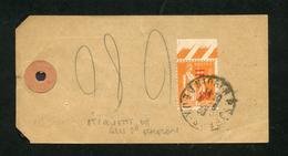 Paix N° 359: ETIQUETTE COLIS Paquet Non Clos 5° échelon OB NIORT Pour L'intérieur Du 4/6/1938 - 1921-1960: Période Moderne