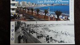 CPM LES SABLES D OLONNE VENDEE  HIER ET AUJOURD HUI ESPLANADE ED HARRYS 1995 - Sables D'Olonne