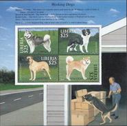 Liberia MNH Dogs Sheetlet - Dogs