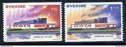 SWEDEN 1973 Nordic House MNH / **.  Michel 808-09 - Sweden