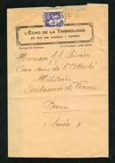 Paix N° 363: Bande JOURNAL OB Amiens Du 3/10/1938 Pour La SUISSE Au 1/2 Tarif Des Imprimés - 1921-1960: Période Moderne