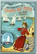 Magnet - Découverte Des Bains De Mer à La Belle Epoque - Le Départ Des Régates - Magnets