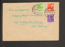 Alli.Bes.6,8 U.10  Pfg.Arbeiter Auf Fernbrief V.Hann.Münden Von 1948 - Gemeinschaftsausgaben