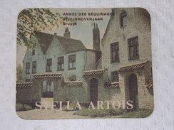 Sous-bocks Bière - Bear - Beer - Pills      ////  STELLA ARTOIS - BEGIJNHOVENJAAR - Année Des Geguinages - Leuven - Sous-bocks