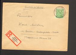 Alli.Bes.84 Pfg.Arbeiter Auf Einschreiben-Fernbrief V.Barum (Braunschw) Von 1948 Ankunftstempel - Gemeinschaftsausgaben