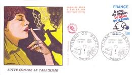 FRANCE LUTTE CONTRE LE  TABAGISME   (FEB170024) - Droga