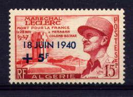 ALGERIE -  345* - 17è ANNIVERSAIRE DE L'APPEL DU GENERAL DE GAULLE - Algeria (1924-1962)