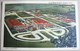 Texas Houston US Naval Hospital 1949 Tampon Galveston - Houston