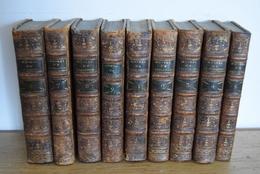 RARE - Madame RICCOBINI - OEUVRES - 9 Volumes - 1781 / 1783 - Livres, BD, Revues