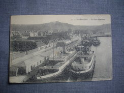 CHERBOURG  -  50  - La Gare Maritime  -  MANCHE - Cherbourg