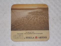 Sous-bocks Bière - Bear - Beer - Pills      ////  STELLA ARTOIS - Modèle: La Mer Du Nord - Sous-bocks