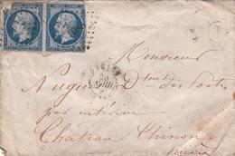 LETTRE.  20 AVRIL ...   NIEVRE  DECIZE 1083.   BOITE RURALE =    J /  56 - Poststempel (Briefe)