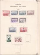 Algérie - Collection Vendue Page Par Page - Timbres Oblitérés / Neufs */** (avec Ou Sans Charnière) - B/TB - Algeria (1924-1962)