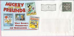Letter , 1995., Liechtenstain, Envelope Disney - Mickey Und Seine Freunde - Brieven En Documenten