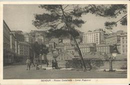 GENOVA PIAZZA CASTELLETTO -CORSO PAGANINI  -FP - Genova (Genoa)